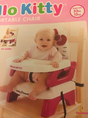 Hello kitty baby feeding chair for Sale in Houston, TX