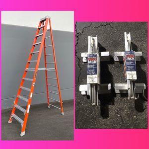 New !!! 12' Step Ladder / Ladder Jacks Set for Sale in La Puente, CA