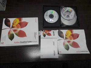 Adobe Creative Suite Premium Pack 6CD 2PCS for Sale in Los Angeles, CA