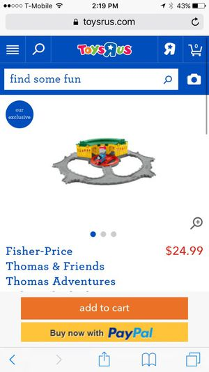 Fisher-Price Thomas & Friends Thomas Adventures its in great condition, my son grew out of it so we want to get rid of it ! It's a great toy for Sale in Austin, TX