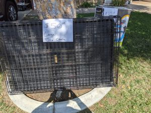 X Large Dog Crate 48x30x33 for Sale in Hemet, CA