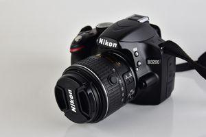 Open Box Nikon D3200 DSLR Camera Complete Set for Sale in Ellicott City, MD