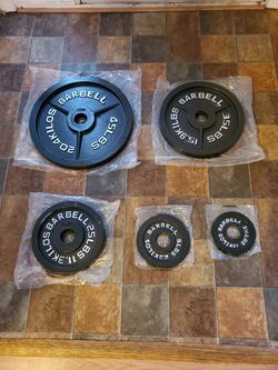 Weights & Bars (exercise equipment) READ DESCRIPTION!!! for Sale in PRNC FREDERCK,  MD