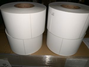Thermal labels different sizes for Sale in Hesperia, CA