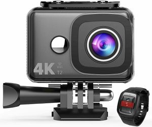 TEC.BEAN 4K Action Camera WiFi 14MP Ultra HD Waterproof Sports Cam 148ft/45M Und for Sale in Los Angeles, CA