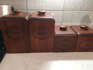 Vintage Kitchen Canisters - Containers - Organizers for Sale in Tulsa, OK