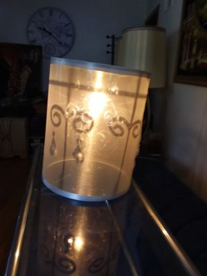 Steel gray hanging lamp for Sale in St. Louis, MO