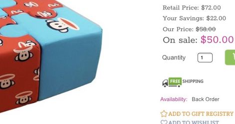 Paul Frank Ottoman Puzzle New for Sale in Eastvale,  CA