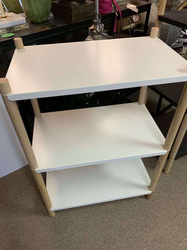"Small shelf. High 31"" W23"""