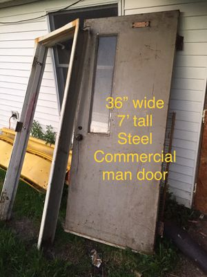 Commercial man door for Sale in Elmira, NY