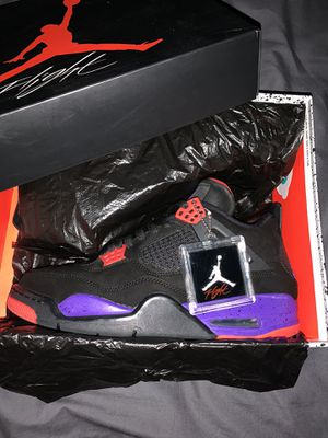 AIR JORDAN RETRO 4 OVO/RAPTORS (DRAKE SIGNATURE) for Sale in Santa Ana, CA