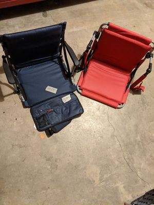To stadium seats / chairs for Sale in Marietta, GA