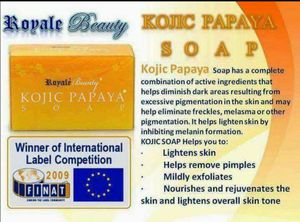 Kojic papaya soap skin whitening soap for Sale in Las Vegas, NV