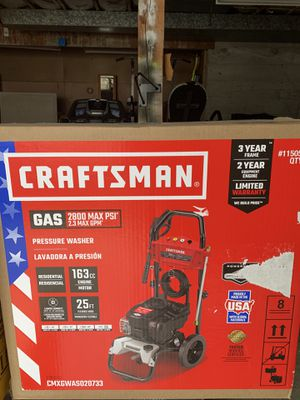 Craftsman pressure washer for Sale in Kent, WA