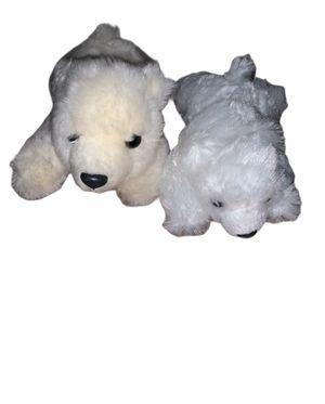 Sea World Plush Polar Bear Cream White Stuffed Animal Soft Fluffy AR60 Bundle for Sale in Chula Vista, CA
