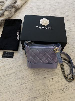 Chanel small Gabrielle - iridescent blue for Sale in West Hollywood, CA
