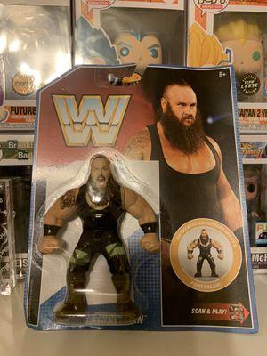Braun Strowman Retro Series 8 WWE Retro Toy Wrestling Action Figure by Mattel for Sale in Houston, TX