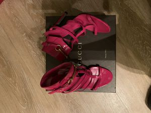 Pink Patent Leather Gucci Heels for Sale in Washington, DC