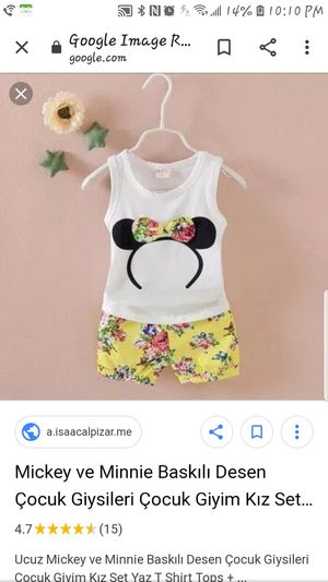 Christmas Gifts Baby Girls Clothes Kids Set Bow Short Sleeve T-Shirt +Pant Baby Girls Clothing Set Kids Cartoon Clothes Set for Sale in Orlando, FL