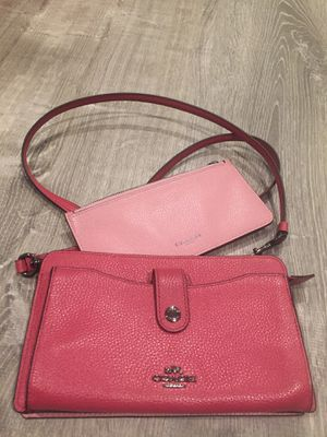 COACH Colorblock Leather Pop Up Messenger for Sale in Chicago, IL