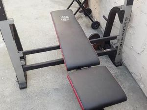 Bench Press Weights Rack for Sale in Los Angeles, CA