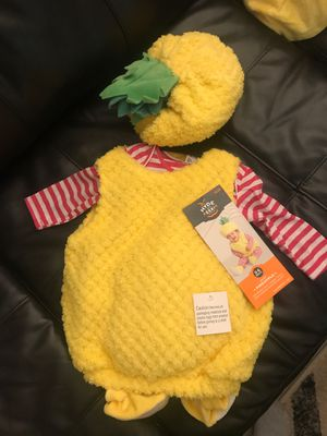 NEW PINEAPPLE COSTUME INFANT 0-6 months for Sale in Columbus, OH