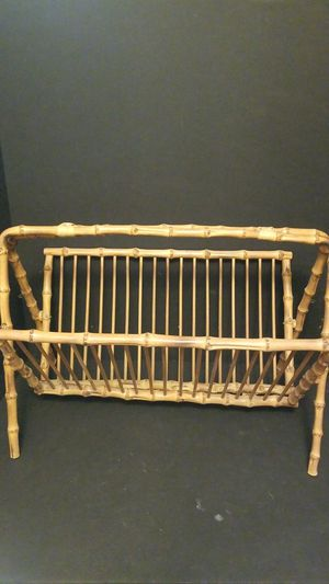 MCM Bamboo Magazine Rack for Sale in Centralia, WA