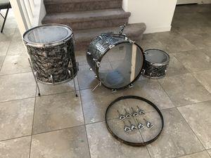 Gretsch Round Badge 3 Piece Drum Set - Vintage 1950s/1960s for Sale in Las Vegas, NV