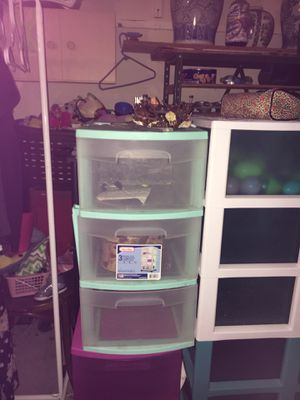 Plastic Storage Drawers for Sale in Peoria, AZ