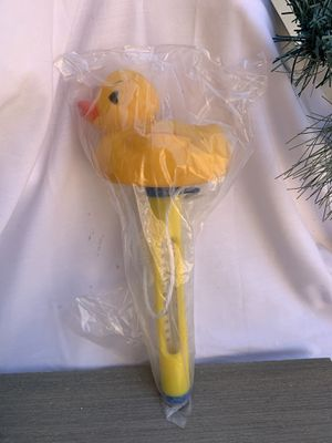 Pool Spa Hot tub Floating Animal Thermometer F/ C Display Rubber Duckie Duck for Sale in Sun City, AZ