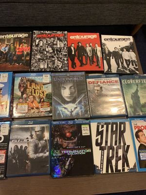 Blu ray dvds- $5 each for Sale in Chicago, IL