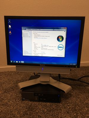 Dell OptiPlex 780 with monitor (multiple) for Sale in Sanger, CA