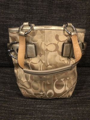 Coach Signature Canvas Hobo for Sale in New York, NY
