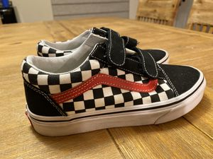 Vans Shoes Kids 2.5 Velcro for Sale in San Jose, CA