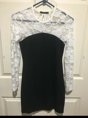 Women's size S sexy mini black/White dress for Sale in Philadelphia, PA