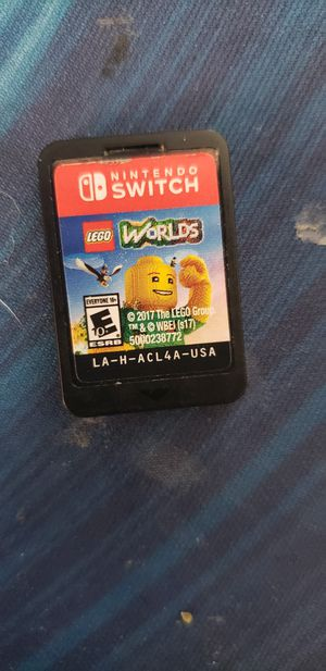 Lego worlds game for switch for Sale in Arlington, TX
