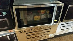 Kicken aid microwave stainless steel for Sale in Modesto, CA