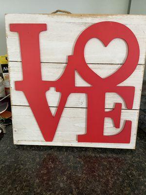 Love sign for Sale in Taunton, MA