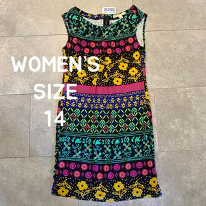 NEW WITH TAGS JONATHAN MARTIN Women's Size 14 Designer Colorful Striped Floral Tank Dress 💖 for Sale in Danville, CA