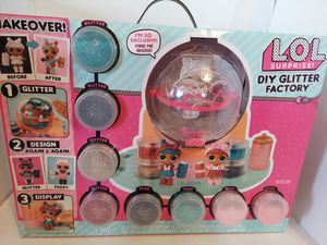LOL SURPRISE DOLLS DIY GLITTER FACTORY for Sale in Hesperia, CA