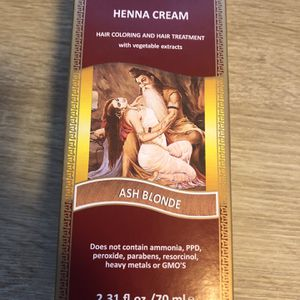Surya Brasil Products Brown Henna Cream Ash Blonde 2.31 fl.oz. 70mL NEW for Sale in Alhambra, CA