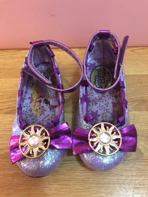 Tangled Toddler Girls Dress Up Disney Princess Shoes for Sale in Las Vegas, NV