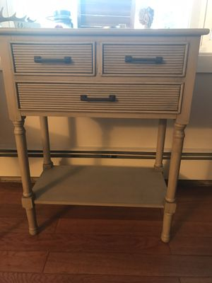 Driftwood type entry table for Sale in Bellingham, MA