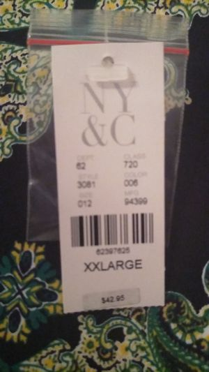 Brand New NyCo Black and Green Summer Dress XXL (18/20) for Sale in Philadelphia, PA
