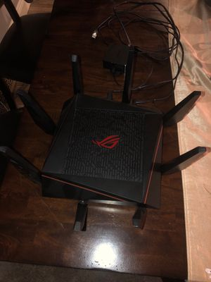 asus rog router for Sale in Rochester, MI