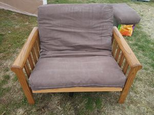Nice wooden Futon chair for Sale in Germantown, MD