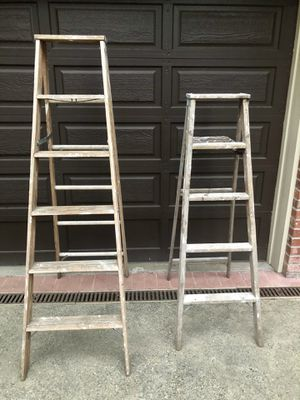 Wooden Ladders for Sale in South Hill, WA