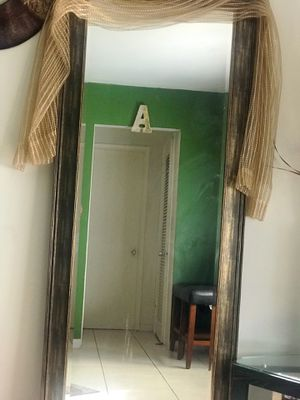 Distress Brass Full Length Mirror for Sale in Hollywood, FL