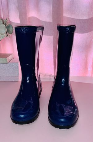 UGG Rain Boots Blue for Sale in Round Rock, TX