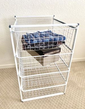 Drawer Units with Wire Baskets for Sale in San Jose, CA
